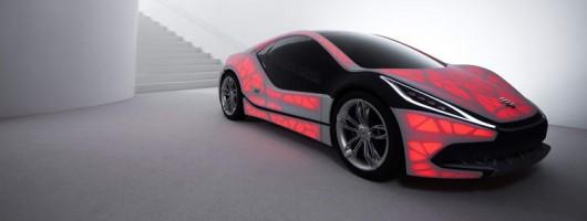 EDAG designs most minimal car ever. Image by EDAG.