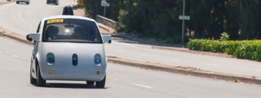 Humans the cause of Google cars' crashes. Image by Googl.