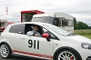 Alisdair Suttie tackles a hillclimb in the Fiat Grande Punto Abarth. Image by Alisdair Suttie.