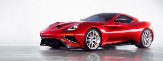 Icona Vulcano to appear at Salon Privé. Image by Icona.