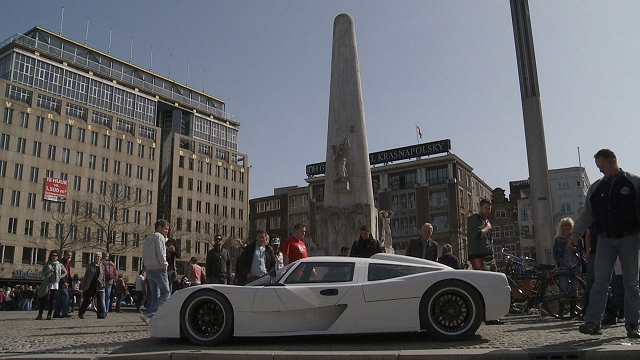 Isis supercar goes Dutch. Image by Isis.
