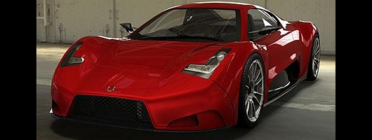 Joss supercar revealed. Image by Joss Developments.