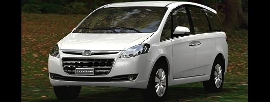 Taiwan's car maker Luxgen declares its arrival. Image by Luxgen.