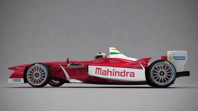 Mahindra joins Formula E. Image by Mahindra.