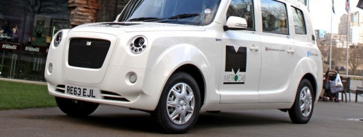 Electric Metrocab specification announced. Image by Metrocab.