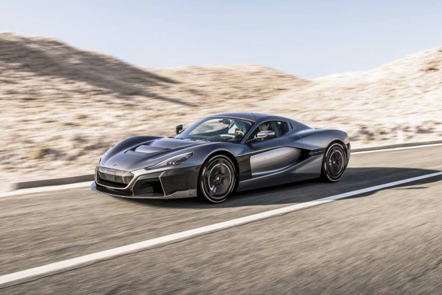 Rimac unleashes ferocious 1,888hp C_Two. Image by Rimac UK.
