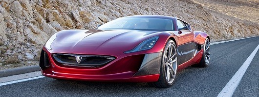Rimac - the all-electric Bugatti beater? Image by Rimac.
