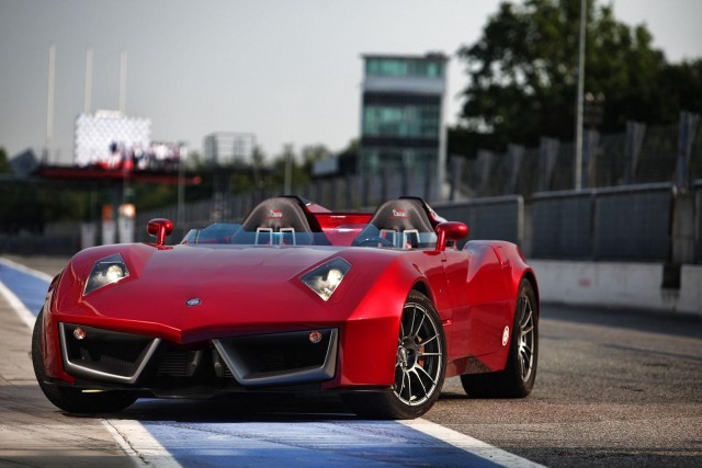 Spada Codatronca Monza fully revealed. Image by Spada.