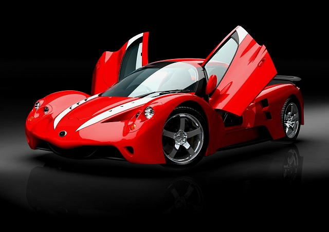 Miniature supercar for Tokyo. Image by Suzusho.