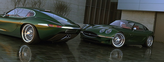 E-type concept to be built. Image by Vizualtech.