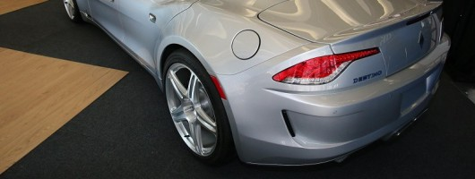Detroit 2013: a petrol-powered Fisker. Image by Newspress.