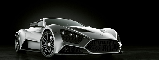Sizzling Danish supercar. Image by Zenvo.