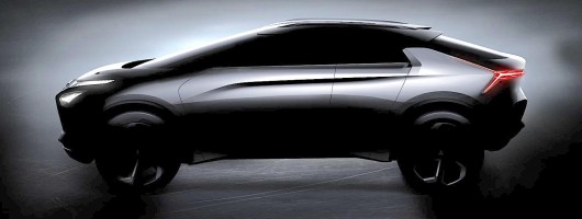 Mitsubishi's electric crossover could be the successor to the Evo X. Image by Mitsubishi.