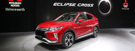 Mitsubishi Eclipse Cross debuts in Geneva. Image by Newspress.