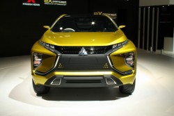 2015 Mitsubishi eX concept. Image by Newspress.