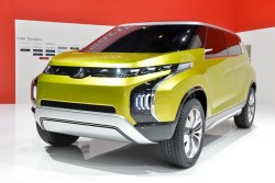 2014 Mitsubishi at Geneva. Image by Newspress.