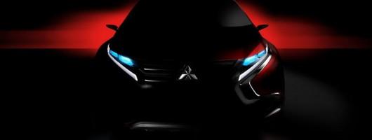 Mitsubishi teases hybrid concept for Geneva. Image by Mitsubishi.