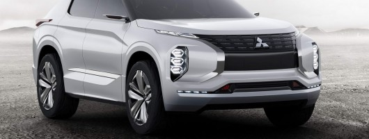Mitsubishi's electrifying line-up includes GT-PHEV. Image by Mitsubishi.