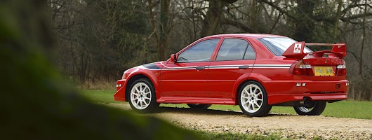 Retro drive: Mitsubishi Lancer Evolution VI Tommi Makinen Edition. Image by Mitsubishi.