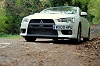 2009 Mitsubishi Lancer Evolution X FQ-330. Image by Kyle Fortune.