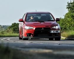 Week at the wheel Mitsubishi Lancer Evolution X FQ400  Car