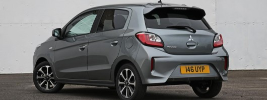 Mitsubishi updates Mirage for 2020. Image by Mitsubishi UK.