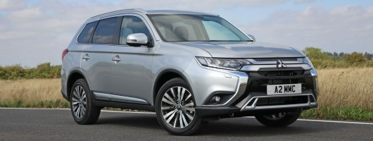 Mitsubishi adds petrol to Outlander range. Image by Mitsubishi.