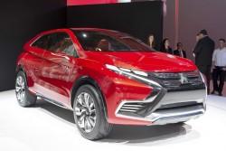 2015 Mitsubishi Concept XR-PHEV II. Image by Max Earey.