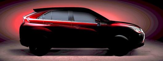 Mitsubishi's Geneva star is 'coupe-like SUV'. Image by Mitsubishi.