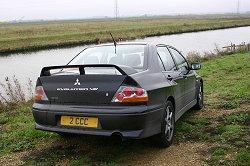 2004 Mitsubishi Lancer Evolution VIII 260. Image by Shane O' Donoghue.
