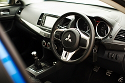 2009 Mitsubishi Lancer Evolution X FQ-400. Image by Jonathan Bushell.