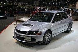 2006 Mitsubishi Lancer Evolution IX FQ-360. Image by Shane O' Donoghue.