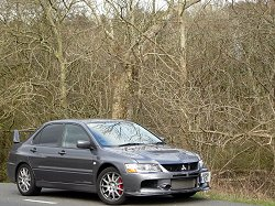 2007 Mitsubishi Lancer Evolution IX MR. Image by James Jenkins.