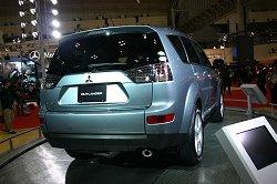 2006 Mitsubishi Outlander (Japanese market). Image by Shane O' Donoghue.