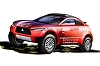 Mitsubishi previews crossover rally car. Image by Mitsubishi.
