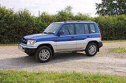 Mitsubishi Shogun Pinin. Photograph by Mark Sims. Click here for a larger image.