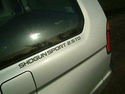2004 Mitsubishi Shogun Sport. Image by Shane O' Donoghue.