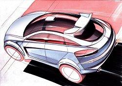 2005 Mitsubishi Sportback concept. Image by Mitsubishi.