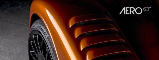 Morgan Aero GT gets race car bodywork. Image by Morgan.