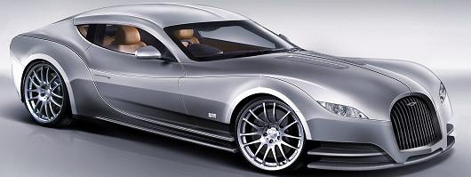 Morgan unveils its new four-seat coupé, the EvaGT. Image by Morgan.