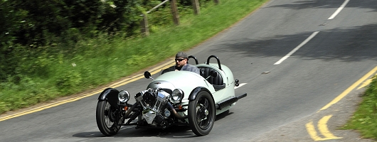 First Drive: Morgan 3 Wheeler. Image by Max Earey.