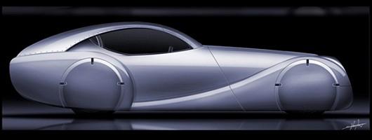 Morgan's hydrogen-fuelled future. Image by Morgan.