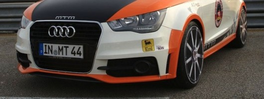 MTM-tuned Audi A1 hits 201mph. Image by MTM.