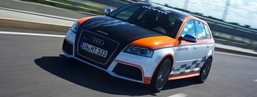 Porsche-baiting Audi RS 3. Image by MTM.