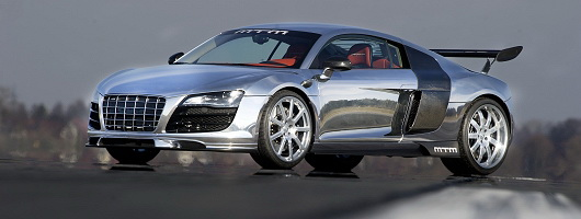 MTM presents the fastest R8 in Geneva. Image by MTM.