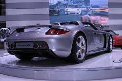 Porsche Carrera GT made its UK show debut. Image by Mark Sims.