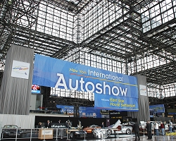 2009 New York Auto Show. Image by United Pictures.