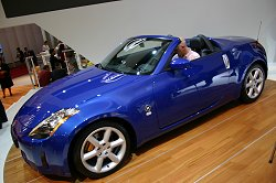 Unsurprisingly, the Nissan 350Z Roadster had a lot of interest. Image by Shane O' Donoghue.