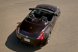 2009 Nissan 370Z Roadster. Image by Nissan.