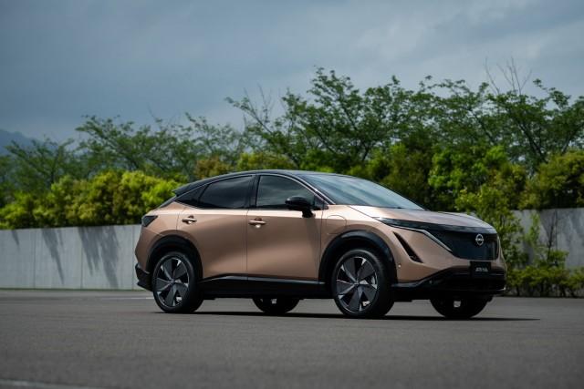 Nissan's new all-electric Ariya. Image by Nissan.